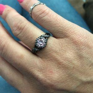Jewelry - Beautiful Pink Cubic Zirconia Ring